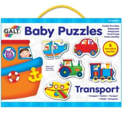 Mini Puzzles - Set de 6 puzzle Transport