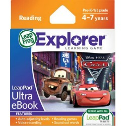 Soft educational copii Cars 2 - LeapPad