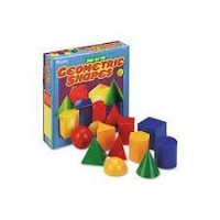 Corpuri geometrice din plastic