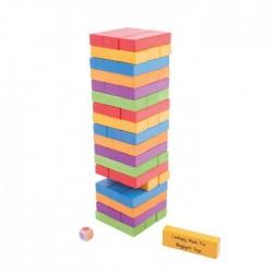 Joc de indemanare - Turnuletul instabil din lemn