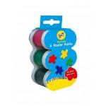 Set acuarele lavabile in 6 culori