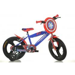 Bicicleta DINO BIKES - Capitan America 416UL CA