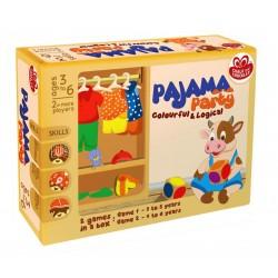 Joc educativ - Petrecere in pijama