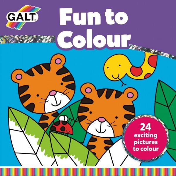 Carte de colorat - Fun to Colour