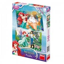 Puzzle 2 in 1 - Ariel
