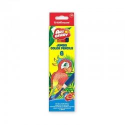 Set 6 creioane colorate Jumbo
