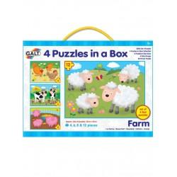 Set 4 puzzle - Animale de la ferma