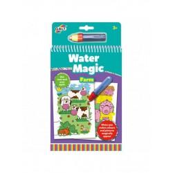 Carte de colorat La ferma - Water Magic
