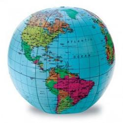 Sa invatam - Glob pamantesc gonflabil in limba engleza
