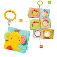 Carticica din plus pentru bebelusi - Elefantel