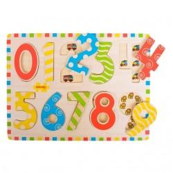 Puzzle mare - Cifre