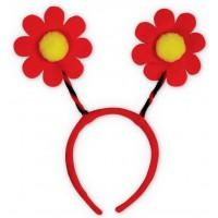 Accesoriu deghizare Floare Rosie