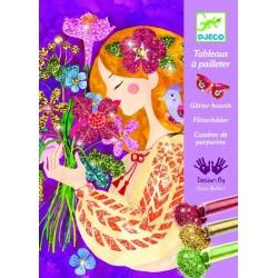 Atelier creativ cu sclipici - Parfumul florilor
