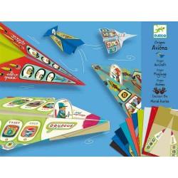 Avioane din hartie Djeco