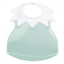 Baveta bebe ultra-soft Arlequin Thermobaby Celadon Green