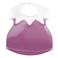 Baveta bebe ultra-soft Arlequin Thermobaby Orchid Pink