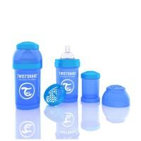 Biberon Anti-colici 180 ml Twistshake Albastru