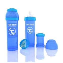 Biberon Anti-colici 330 ml Twistshake Albastru