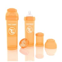 Biberon Anti-colici 330 ml Twistshake Portocaliu