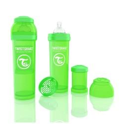 Biberon Anti-colici 330 ml Twistshake Verde