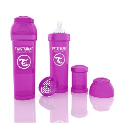 Biberon Anti-colici 330 ml Twistshake Violet