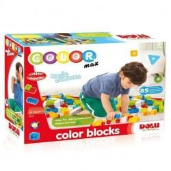 Blocuri colorate de construit - 85 piese