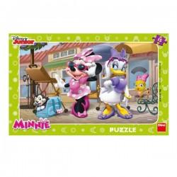 Puzzle - Minnie si Daisy la plimbare