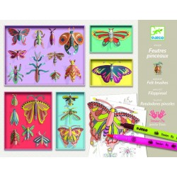 Cabinet de curiozitati Djeco Fluturi