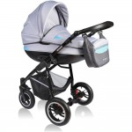 Carucior Crooner 2 in 1 - Vessanti - Blue/Gray