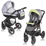 Carucior Crooner 2 in 1 - Vessanti - Green/Gray