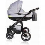 Carucior Crooner 3 in 1 - Vessanti - Green/Gray