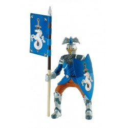 Figurina Bullyland - Cavaler pentru turnir albastru