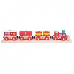 Trenuletul pompierilor - BigJigs