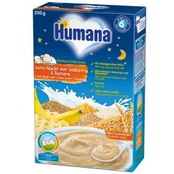 Cereale Humana noapte buna cu fulgi de ovaz si banane de la 6 luni 200 g