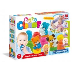 Clemmy - Set joaca animalute domestice