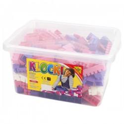 Cuburi constructii in cutie pentru fetite