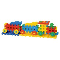 Cuburi constructii Locomotiva