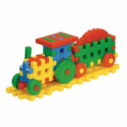 Cuburi constructii Tractor