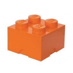 Cutie depozitare 2x2 - Portocaliu
