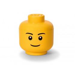 Cutie depozitare L cap minifigurina LEGO baiat 40321724