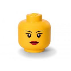 Cutie depozitare L cap minifigurina LEGO fata 40321725