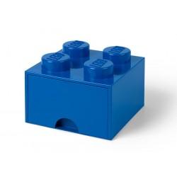 Cutie depozitare LEGO 2x2 cu sertar - Albastru (40051731)