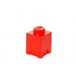 Cutie depozitare LEGO 1x1 - Rosu