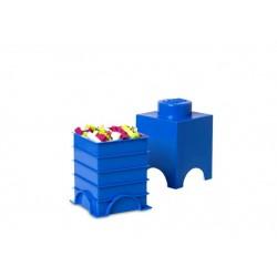 Cutie depozitare LEGO 1x1 - Albastru inchis
