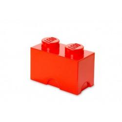 Cutie depozitare LEGO 1x2 - Rosu