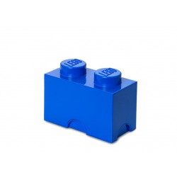 Cutie depozitare LEGO 1x2  - Albastru inchis