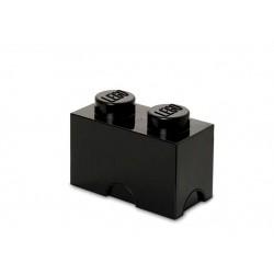 Cutie depozitare LEGO 1x2 - Negru
