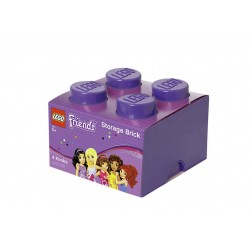 Cutie depozitare LEGO Friends 2x2 - Violet