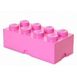 Cutie depozitare LEGO 2x4 - Roz