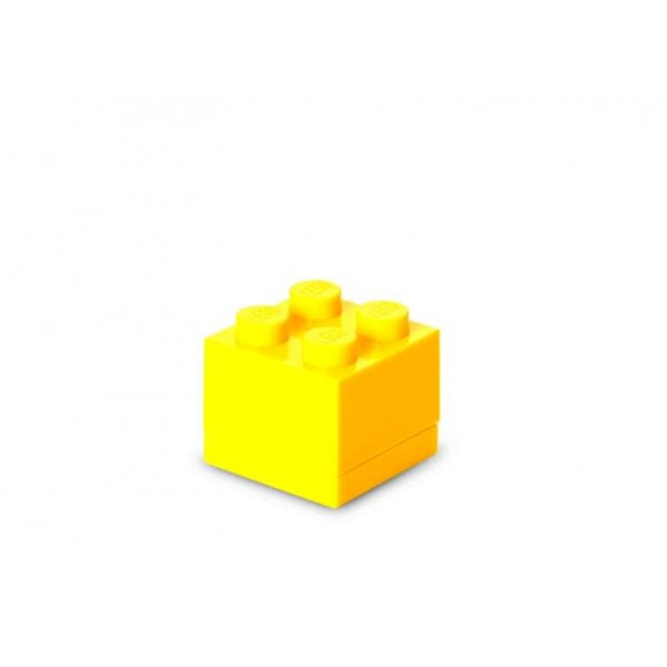 Mini cutie depozitare LEGO 2x2 - Galben